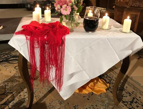 Ein Abendmahl in der Stiftskirche Wilhering